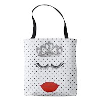 Tiara Where'e My Lipstick Tote Bag